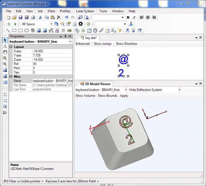 WinLase Screenshot